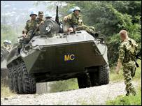 جنود روس في جورجيا