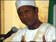 Nigerian President Umaru Yar'Adua (file photo)