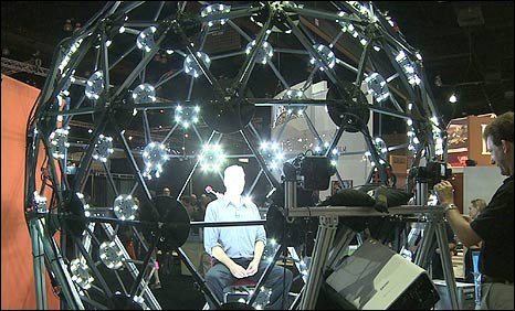 Peter Bowes in the Aguru Dome