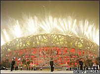Inauguraci�n de los Juegos Ol�mpicos de Pek�n