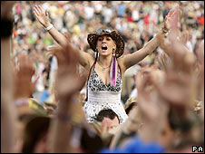 Fans at V Festival