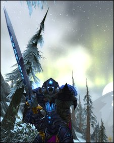Screenshot from Wrath of the Lich King, Blizzard