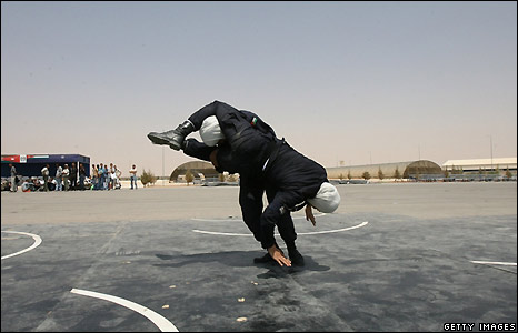 Jordanian women police