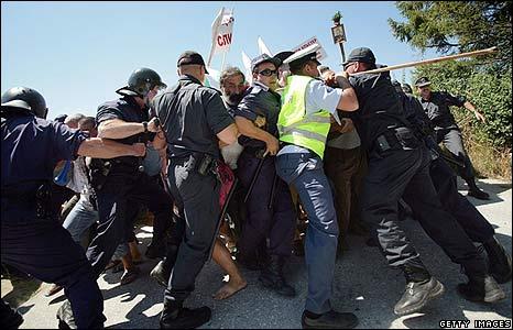 Protest in Bulgaria