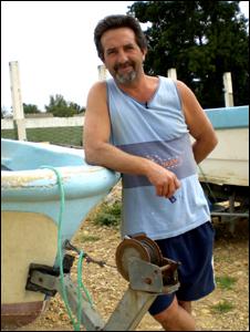 Fisherman Jean Luc Fontaine