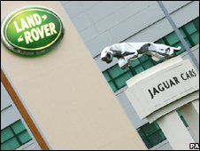 Jaguar and Land Rover logos