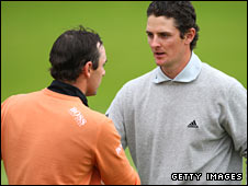Justin Rose (right) and Oliver Wilson