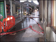 Pumping equipment in Commercial Street