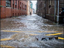Flooding in Dundee/Pic: Colin McQuillen