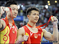 China's gymnasts won medal after medal
