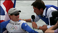 Rob Walker interviews Team GB's Paul Goodison