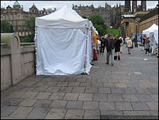 Site of the coffee stall