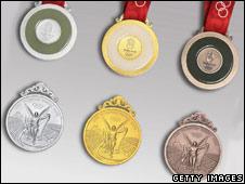 Olympics medals