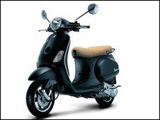 Vespa LX scooter