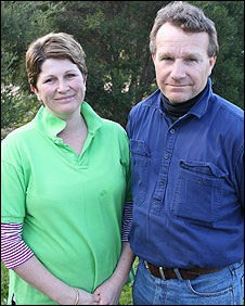 Melanie and Nigel Treloar