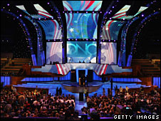 The venue for the 2008 Democratic Convention in Denver, Colorado