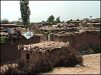 قرية باكستانية معدمة بالقرب من روالبندي