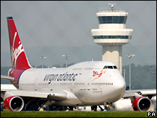Generic picture of Virgin Atlantic Boeing 747-400 at Gatwick Airport