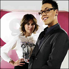 Gok Wan and Alexa Chung