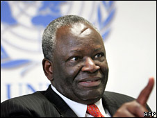 File image of UN Special Envoy Ibrahim Gambari