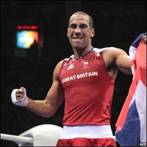 """James Degale supplies Britain's 19th (and last?) gold medal with victory over Cuba""""s Emilio Correa Bayeaux in the middleweight boxing final"""