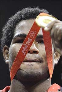 F�lix D�az, boxeador dominicano