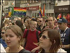 Cornwall Pride 2008