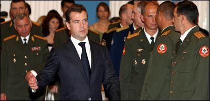 الرئيس الروسي ميدفيديف