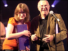 Sarah Millican and Clive James