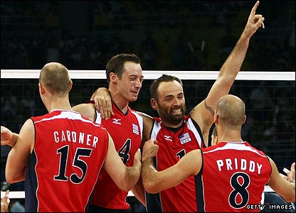 The US claim the Olympic men's volleyball gold after beating defending champions Brazil