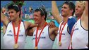 Britain's coxless four