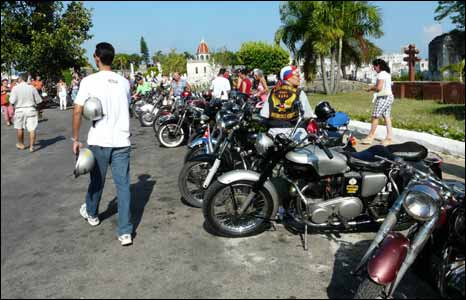 Biking convention, Havana