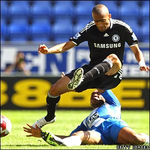 Jose Bosingwa, Chelsea; Wilson Palacios, Wigan Athletic
