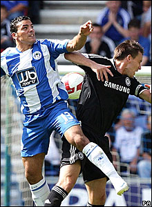 Amr Zaki, Wigan Athletic; John Terry, Chelsea