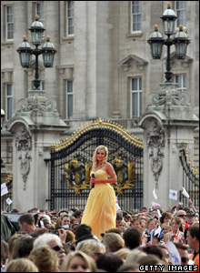 Katherine Jenkins at Buckingham Palace