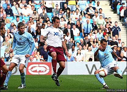 Michael Johnson, Elano, Manchester City; Lucas Neill, West Ham United