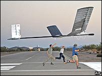 Prueba del Zephyr-6 en Arizona