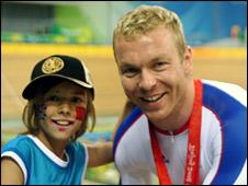Angus Kirkby meets Chris Hoy