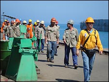 Petrobas workers