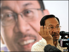 Anwar Ibrahim, at a press conference on 25 August 2008
