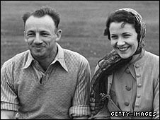 Don Bradman and Jessie Bradman