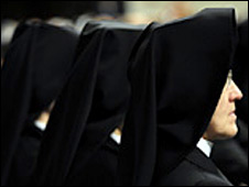 Roman Catholic nuns at the Vatican. File photo