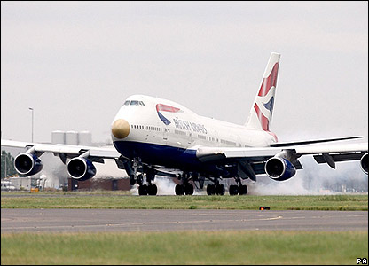Team GB arrive at Heathrow