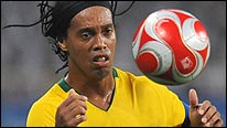 Brazil's Ronaldinho had to settle for an Olympic bronze medal