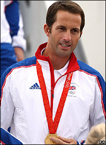 Ben Ainslie won in the Finn class