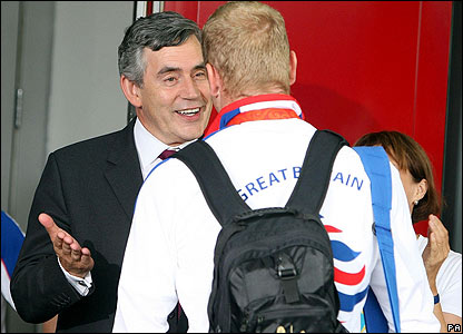 Hoy meets Gordon Brown