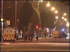 East Belfast street scene