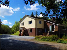 Oldborough Estate house: Pic Brian Wilshaw