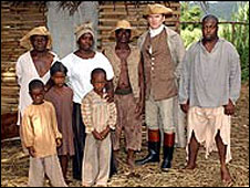 Slavery, as depicted in BBC programme Breaking the Chains