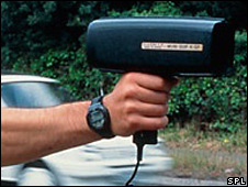 Speed gun